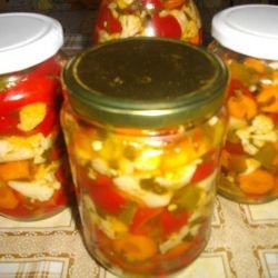 Homemade Mixed Pickle