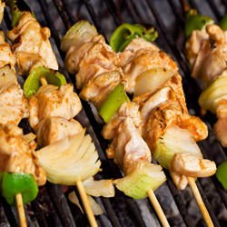 Baked Chicken Skewers