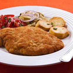 Cutlets with Minced Meat and Potatoes