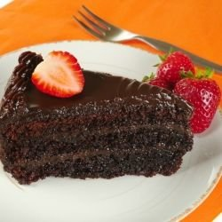 Easy Chocolate Cake without Flour