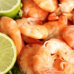 Spicy Shrimp with Lime