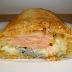 Fried Salmon Pockets