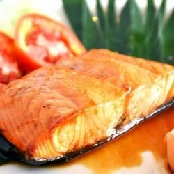 Salmon with Creole Sauce
