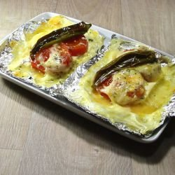 Feta Cheese in Foil