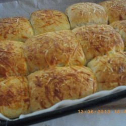 Feta Cheese Buns in the Oven