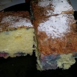 Syruped Cake with Turkish Delight