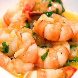 Shrimp in Butter