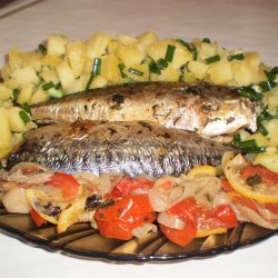 Mackerel in Foil