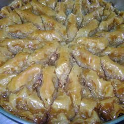 Sweet and Juicy Baklava