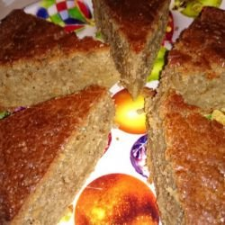 Cake with Apples and Cinnamon
