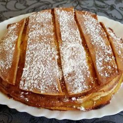 Cake with Pancakes