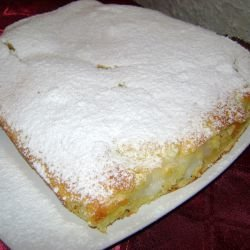 Cake with Vanilla Cream