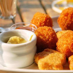 Delicious Fried Cheeses
