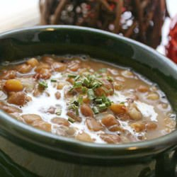 Lentils in a Clay Pot