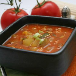 Tomato Soup with Semolina