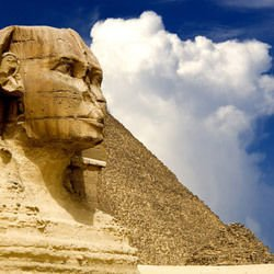 Are the pyramids work of aliens?
