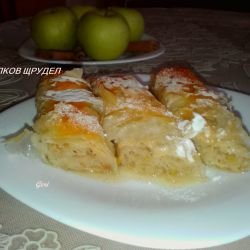 Syruped Apple Strudel