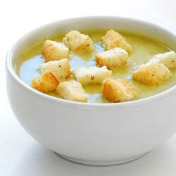 Broccoli and Cauliflower Cream Soup