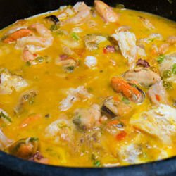 French Bouillabaisse Fish Soup