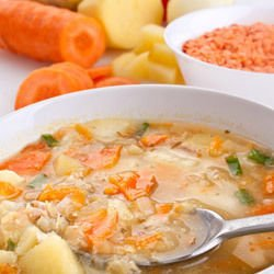 Vegetable Soup with Cabbage and Potatoes
