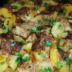 Pork Clod with Potatoes