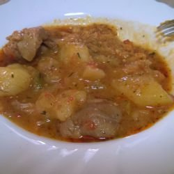 Village-Style Pork with Potatoes