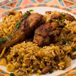 Wings and Rice Casserole