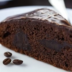 Coffee-Flavored Chocolate Cake
