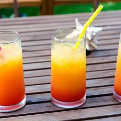Delightful Tequila Sunrise Cocktail