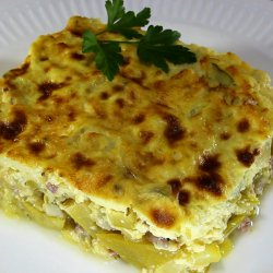 Oven-Made Zucchini with Minced Meat