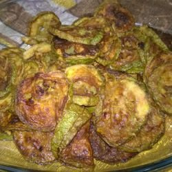 Fried Zucchini with Ginger