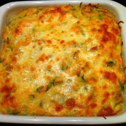 Gratin with Zucchini and Feta Cheese