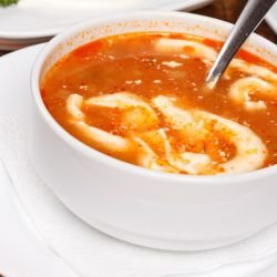 Chinese-Style Tomato Soup