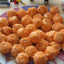 Cheese and Carrot Balls