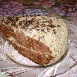 Tasty Cake with Lots of Walnuts