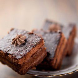 Brownie Cake with Nuts