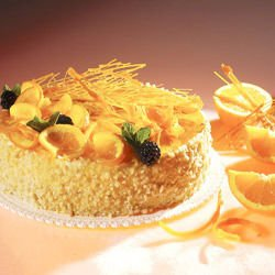 Fancy Orange Cake