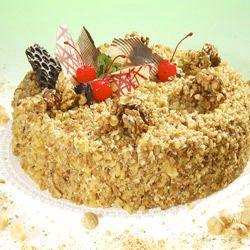 Walnut Cake for Kids