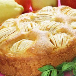 Cake with Whole Apples