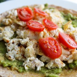 Avocado and Eggs Tortilla