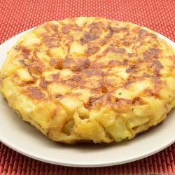 Potato Tortilla with Spices
