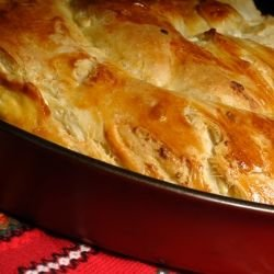 Twisted Onion Pie