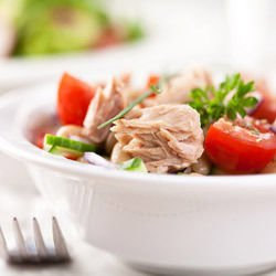 Salad with Tuna and Corn