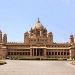 Sightseeing in Istanbul - Umaid Bhawan Palace