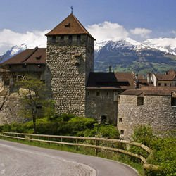 Liechtenstein -  Vaduz Castle in Liechtenstein