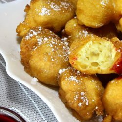 Mixed Vanilla Fritters