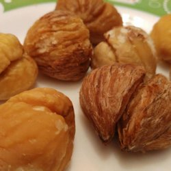 Tasty Boiled Chestnuts