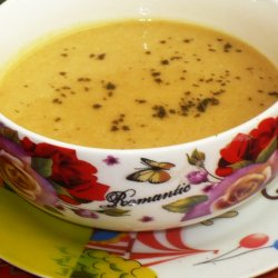 Vegan Cream Soup from Red Lentils