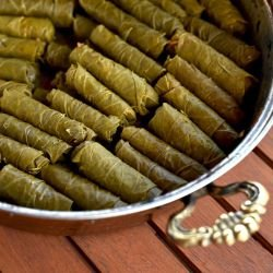 Sarma with Black Pudding