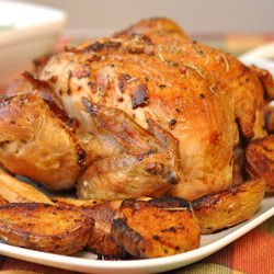 Mom's Homemade Roasted Chicken
